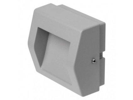 LED orientační přisazené svítidlo - 4W, 100lm, WW, 90x90x53mm, IP54 - Emos (ZC0103)