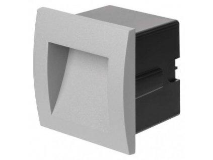 LED orientační vestavné svítidlo - 1W, 25lm, WW, 90x90mm, IP65 - Emos (ZC0105)