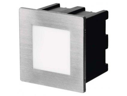LED orientační vestavné svítidlo - 1,5W, 75lm, WW, 80x80mm, IP65 - Emos (ZC0109)