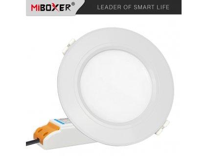 Vestavné SMART LED downlight svítidlo - 6W, 600lm, RGB+CCT, 120° - Mi-Light / MiBoxer (FUT068) - 01