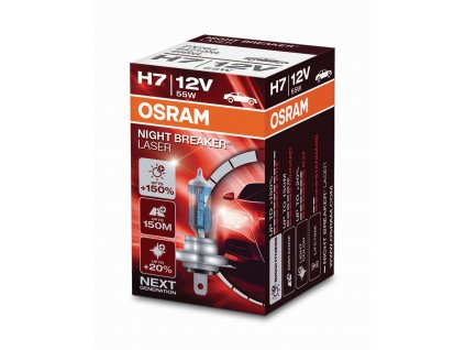 H7 Osram Night Breaker® Laser Next Generation (1 ks) - 12V, 55W, PX26d - Osram (64210NL)