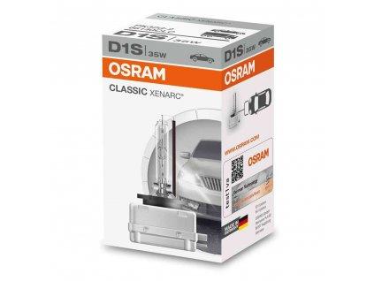 D1S Osram Xenarc® Classic (1 ks) - 35W, 3200lm,PK32d-2 - Osram (66140CLC)