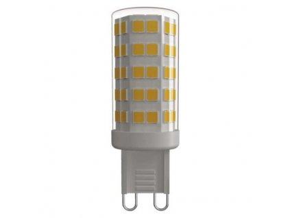 LED žárovka - Classic JC A++ - 4,5W, 465lm, G9, teplá bílá (WW) - Emos (ZQ9540)