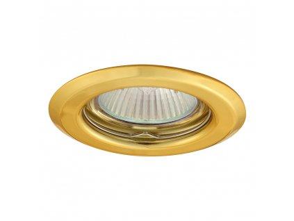 Pevné vestavné bodové svítidlo AXL 2114-G (zlatá) Greenlux (GXPP004)