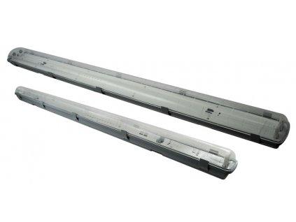 Prachotěsné svítidlo DUST LED PS pro LED trubice 1xT8 - 60cm - Greenlux (GXWP206)