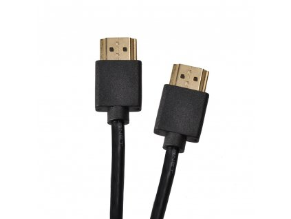 SLIM kabel HDMI s Ethernetem - HDMI 1.4 A konektor - HDMI 1.4 A konektor - 0,5m - Solight (SSV22005E)