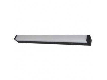 FULGUR DAISA LED 12W/4000K BLACK svítidlo pod kuchyňskou linku, studená bílá