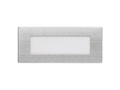 LED orientační vestavné svítidlo 123×53 1,5W neutr.bílá IP65