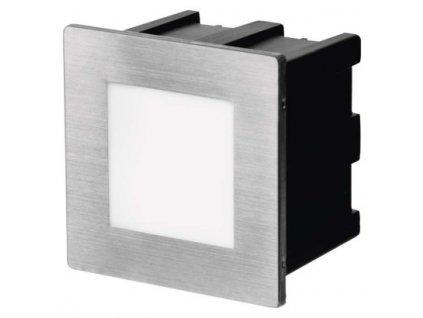 LED orientační vestavné svítidlo - 1,5W, 75lm, NW, 80x80mm, IP65 - Emos (ZC0111)