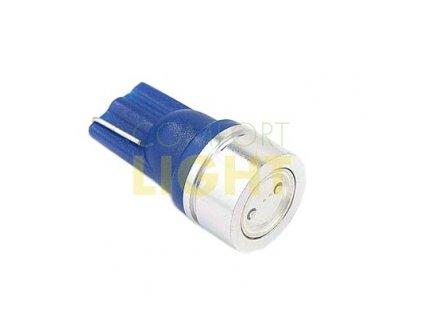 LED autožárovka W5W 1,5W 12V BLUE - Comfort Light (COM_32102)