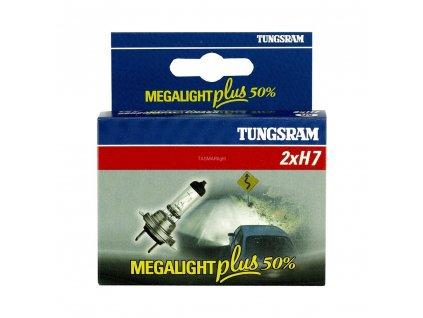 H7 Megalight Plus +50% (2 ks) - Tungsram (513912)