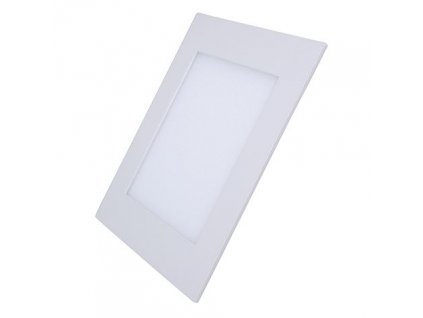 LED podhledový mini panel - 6W, 400lm, NW - 4000K, čtverec, bílý - Solight (WD104)