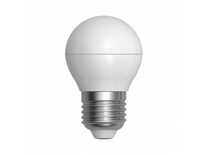 LED žárovka miniglobe 5W E27 6400K CW SKYLIGHTING (G45PA-2705F)