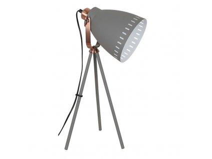 Stolní lampa Torino - šedá - Solight (WA002-G)