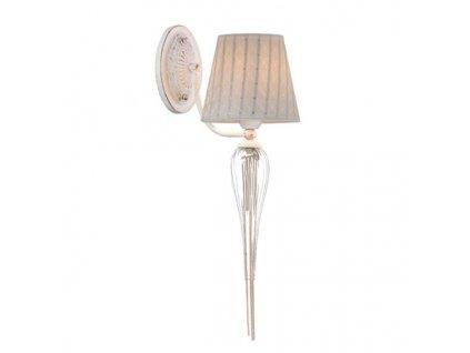 Nástěnné svítidlo | Ø15cm, zlato-bílá patina + bílá + zlatá | Aca Lighting (EG170301WWFG)