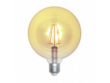 LED žárovka globe amber 4W E27 2200K WWW SKYLIGHTING (GNFL-12504A)