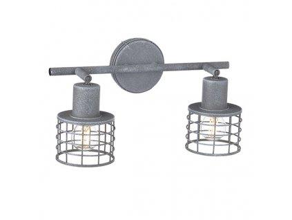 Nástěnné a stropní svítidlo   Ø9,5x7,4cm, imitace cementu   Aca Lighting (GN732CCE)