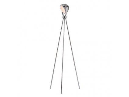 Stojací lampa | Ø16cm, chrom | Aca Lighting (ML306131FCH)