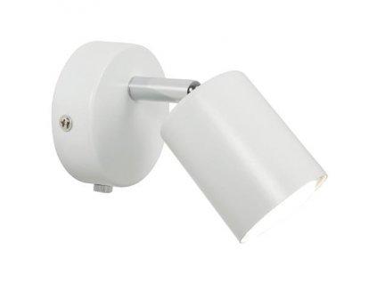 Nástěnná čtecí LED lampička Nordlux Explore | Ø5,5cm, bílá | 72091001