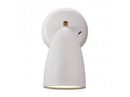 Nástěnná čtecí LED lampička Nordlux Nexus | Ø10cm, bílá | 77271001