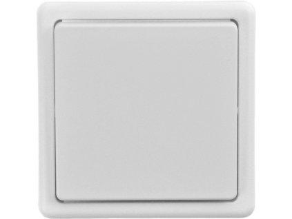 Solight vypínač ABB Classic č. 7 křížový, bílý