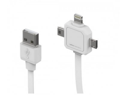5767 powercube power usb cable nabijeci kabel miniusb microusb apple lightning