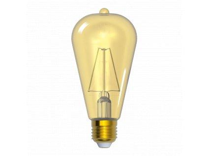 LED žárovka edison amber ST64 4W E27 2200K WWW SKYLIGHTING (ST64-2704A)