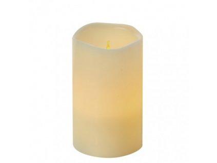 LED dekorace - vosková svíčka 12,5cm - vintage, časovač, 3xAAA - Emos (ZY2147)