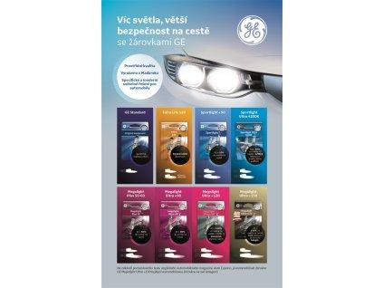 H4 Megalight Ultra +130% (2 ks) - GE Lighting (93039913;93033325)