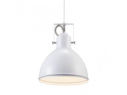 Závěsné svítidlo Nordlux Aslak | Ø20 cm, bílá | 46553001