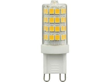 LED žárovka Classic JC A++ 3,5W G9 teplá bílá - Emos (ZL3801)
