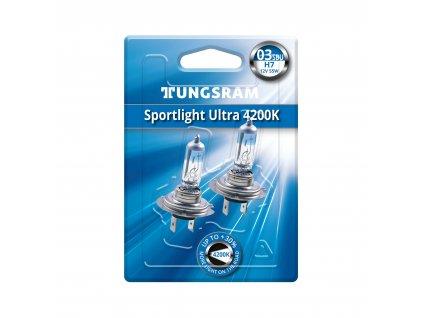 H7 Sportlight Ultra 4.200° K (2 ks) PX26d - Tungsram (58520SBU)