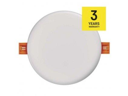 LED vestavný panel - 11W, 850lm, WW, IP65, kruh, bílá - Emos (ZV1131)