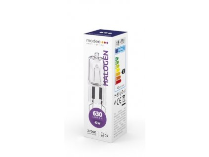 Modee lighting - ECO halogen G9 42W 630 lm 230V