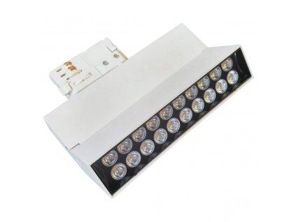 LED lištové / kolejnicové svítidlo GREENLUX AREO PROFI TRACK W 15W NW - GXPR112