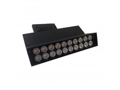 LED lištové / kolejnicové svítidlo GREENLUX AREO PROFI TRACK B 15W NW - GXPR113