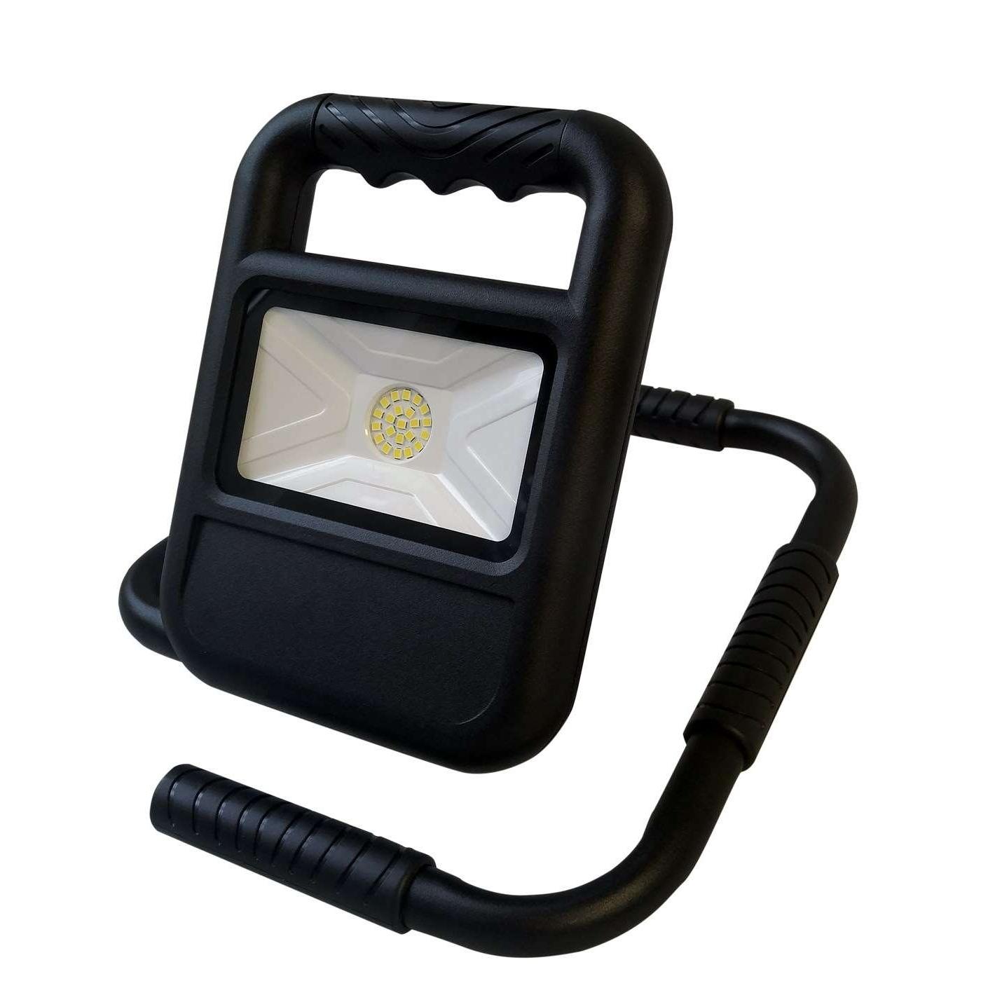 Bateriový přenosný LED reflektor SMD BATTERY 20W NW 1400lm - Greenlux (GXLR002)