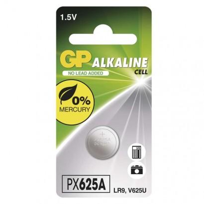 Alkalická knoflíková baterie GP LR9 625AF, blistr