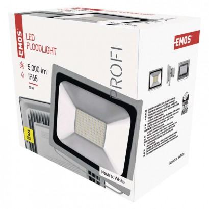 LED reflektor PROFI 50W neutrální bílá