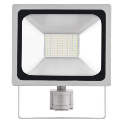 LED reflektor PROFI s PIR, 50W neutrální bílá