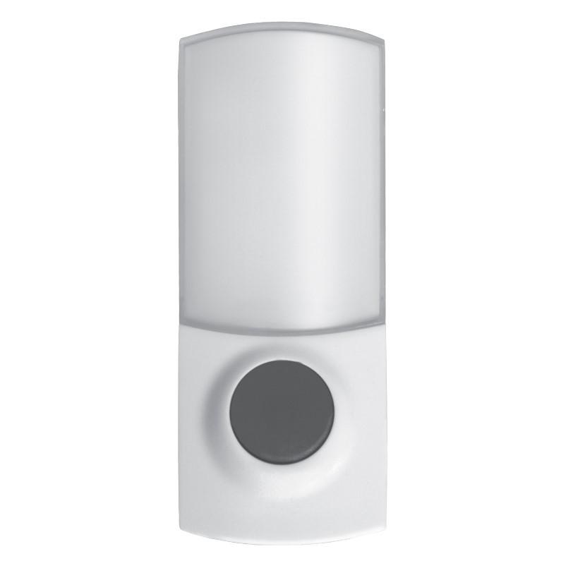 Solight bezdrátové tlačítko pro 1L38, 150m, bílé, learning code, kryt na jmenovku (1L38T)
