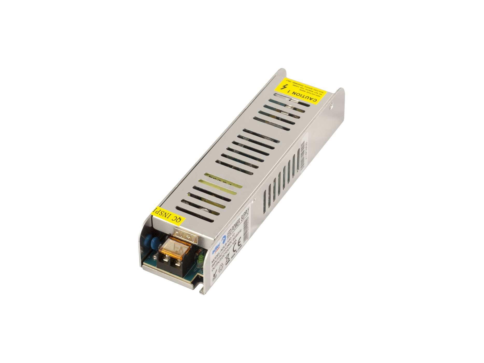 Vnitřní LED zdroj - 120W, 5A, 24V, IP20, SLIM provedení (ADLS-120-24) - Greenlux (GXLD124)