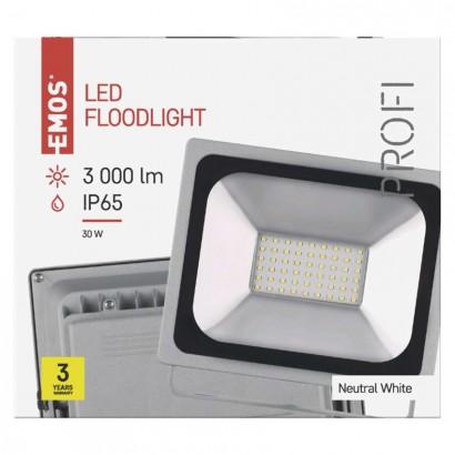 LED reflektor PROFI 30W neutrální bílá