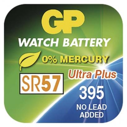 Knoflíková baterie do hodinek GP 395F, krabička