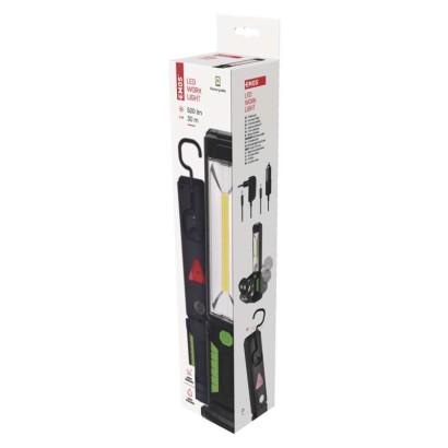 Nabíjecí svítilna LED P4525, 5W COB LED - Emos (P4525)