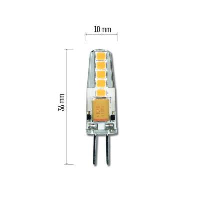 LED žárovka Classic JC A++ 2W G4 teplá bílá - Emos (ZQ8620)