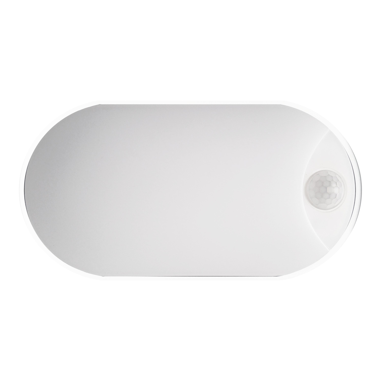 LED přisazené senzorové svítidlo DITA OVAL W 14W NW Greenlux (GXPS043)