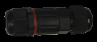 Kabelová vodotěsná spojka CSJ IP68 2x1,5 - Greenlux (GXSP001)