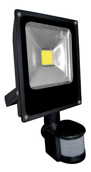 LED reflektor s čidlem pohybu DAISY PIR MCOB 20W - Greenlux (GXDS105)