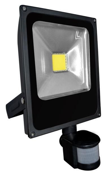 LED reflektor s čidlem pohybu DAISY PIR MCOB 30W - Greenlux (GXDS106)